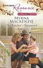 Rancher's Unexpected Family, The  (large print)