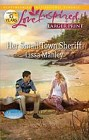 Her Small-Town Sheriff  (large print)
