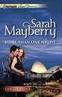 More Than One Night  (large print)