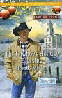 Cowboy's Holiday Blessing, The  (large print)