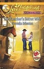 Rancher's Secret Wife, The  (large print)