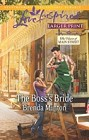 Boss's Bride, The  (large print)
