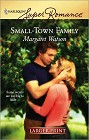 Small-Town Family (Large Print)