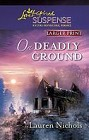 On Deadly Ground  (large print)