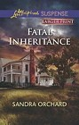 Fatal Inheritance  (large print)