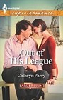 Out of His League  (large print)