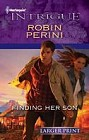 Finding Her Son  (large print)