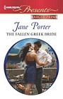 Fallen Greek Bride, The  (large print)