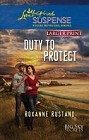 Duty to Protect  (large print)