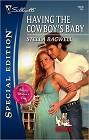 Having the Cowboy's Baby [Large Print]