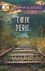 Twin Peril  (large print)