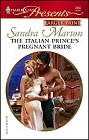 Italian Prince's Pregnant Bride, The (Large Print)