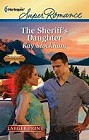 Sheriff's Daughter, The  (large print)