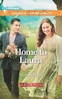 Home to Laura   (large print)