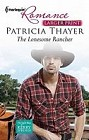 Lonesome Rancher, The  (large print)