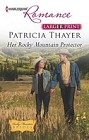 Her Rocky Mountain Protector  (large print)