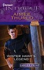 Winter Hawk's Legacy  (large print)