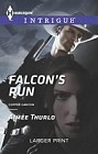 Falcon's Run  (large print)