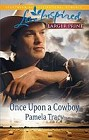 Once Upon a Cowboy  (large print)