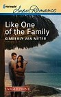 Like One of the Family  (large print)