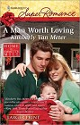 Man Worth Loving, A (Large Print)