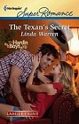 Texan's Secret, The  (large print)