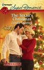 Texan's Christmas, The  (large print)
