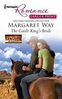 Cattle King's Bride, The  (large print)