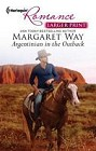 Argentinian in the Outback  (large print)