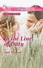 In the Line of Duty  (large print)