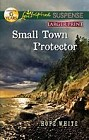 Small Town Protector  (large print)
