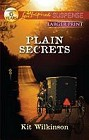 Plain Secrets  (large print)