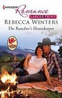 Rancher's Housekeeper, The  (large print)