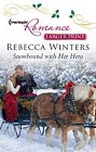 Snowbound With her Hero  (large print)