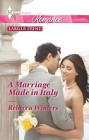 Marriage Made in Italy, A  (large print)