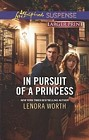 In Pursuit of a Princess  (large print)