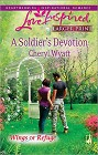 Soldier's Devotion, A  (Large Print)